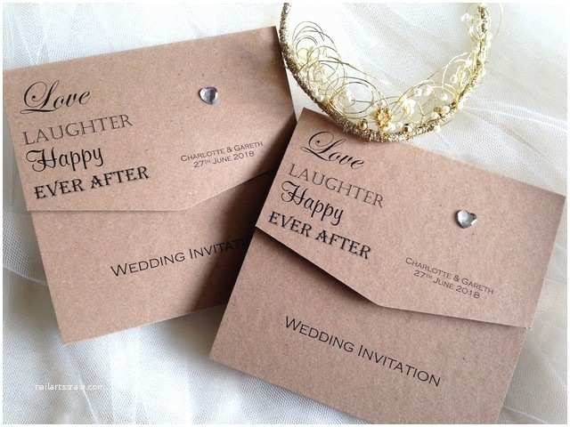 Fold Out Wedding Invitations Love Laughter Wedding Invitations £1 50 Affordable