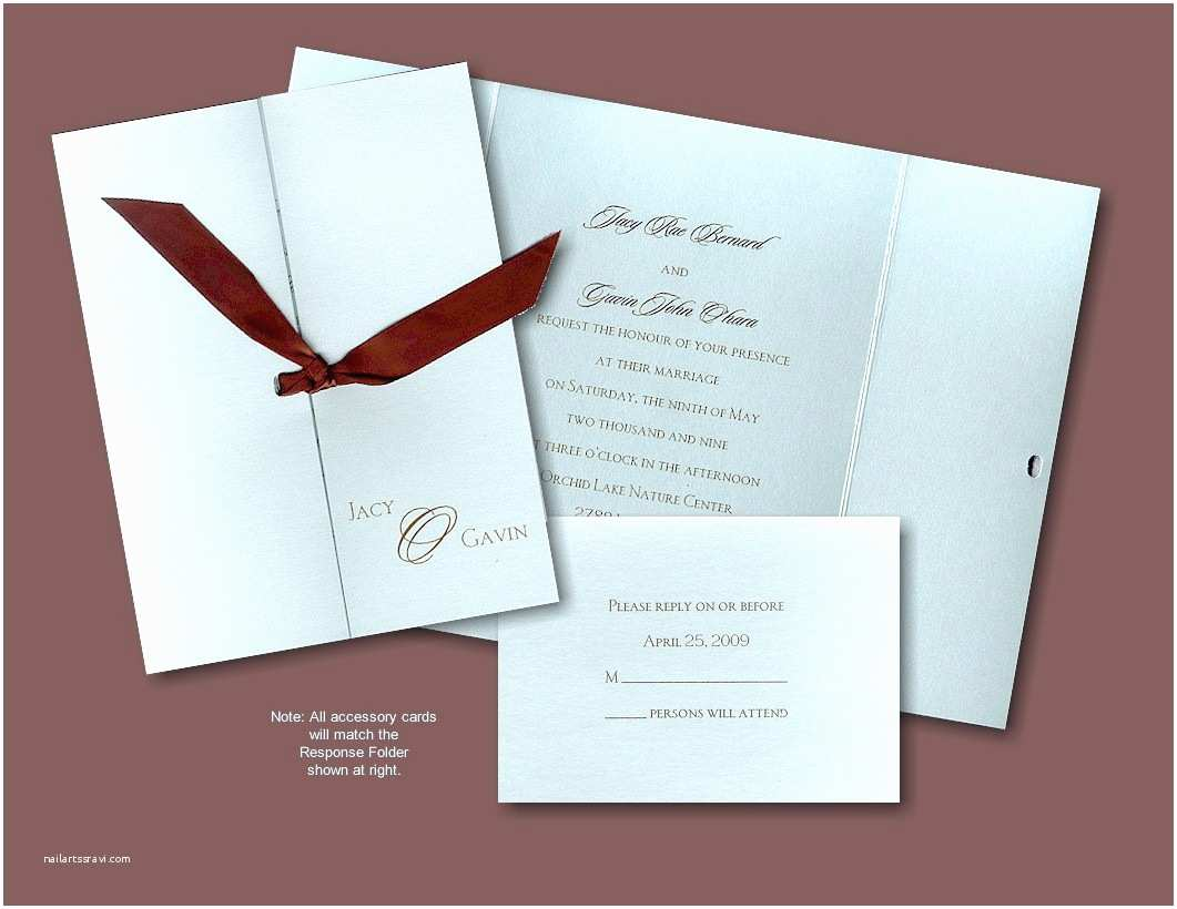 Folded Wedding Invitations Wedding Invitations What Cake Ideas and Designs