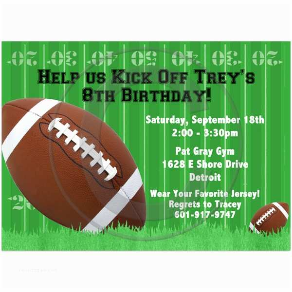 Football Party Invitations Templates Free 40th Birthday Ideas Free Football Birthday Party