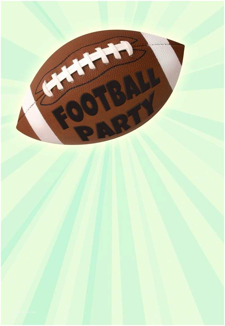 Football Party Invitations Templates Free 41 Best Images About Party Invitation Templates