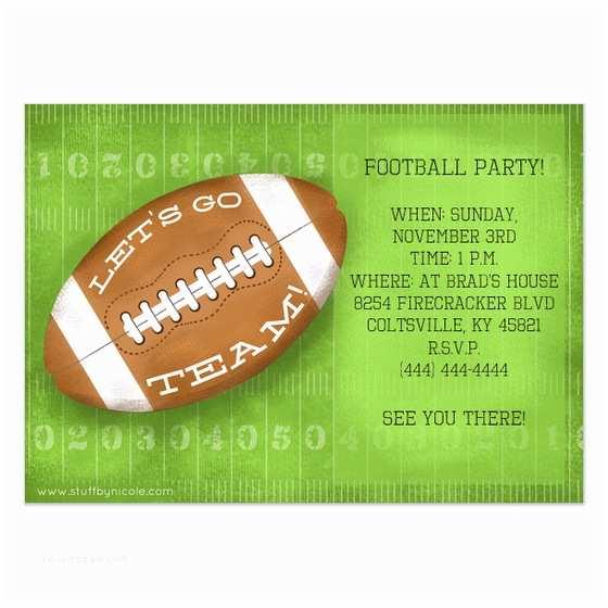 Football Party Invitations S Free Football Invitation  Invitation
