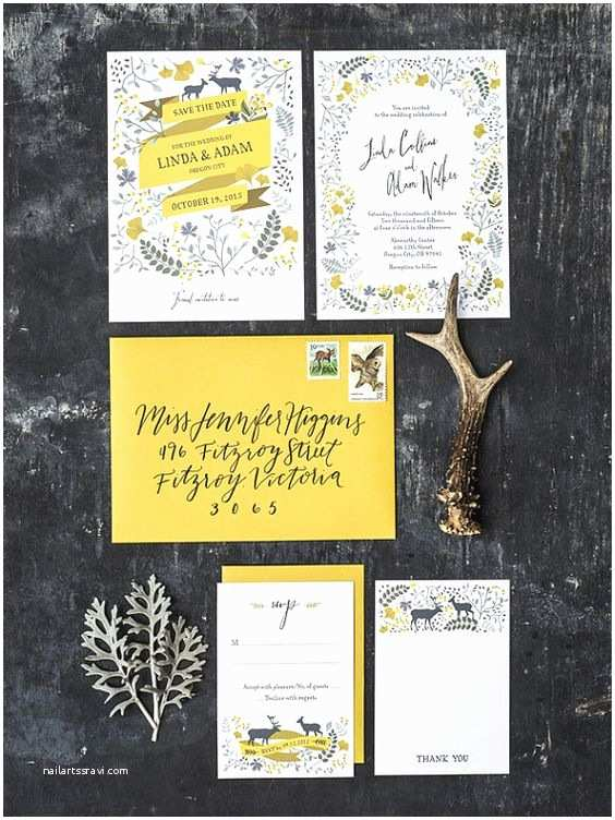 Forest Wedding Invitations 16 Wedding Perfect Printable Stationery Styles From 3 Eggs