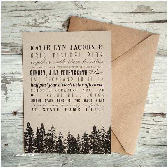 Forest Wedding Invitations Best 25 Tree Wedding Invitations Ideas On Pinterest