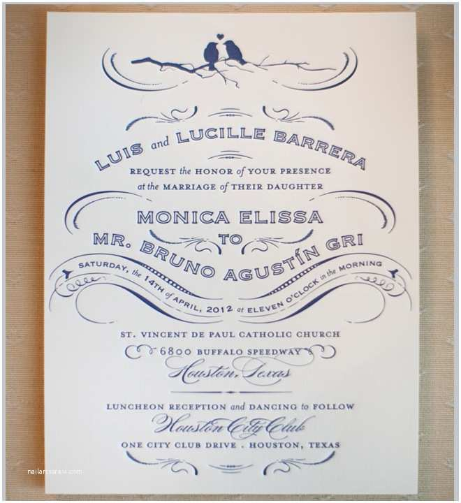 Formal Attire On Wedding Invitation Houston City Club Wedding By Sarah Ainsworth