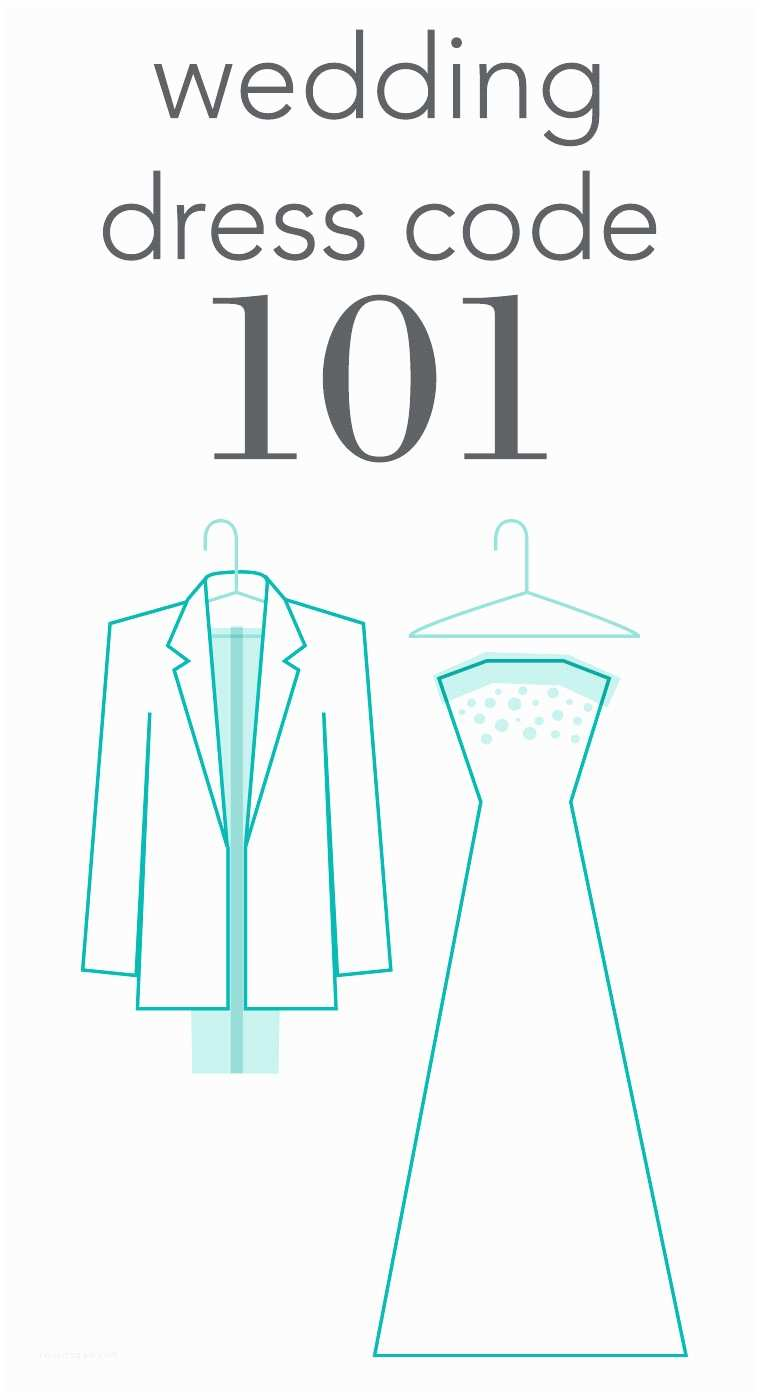 Formal attire On Wedding Invitation Wedding Dress Code 101