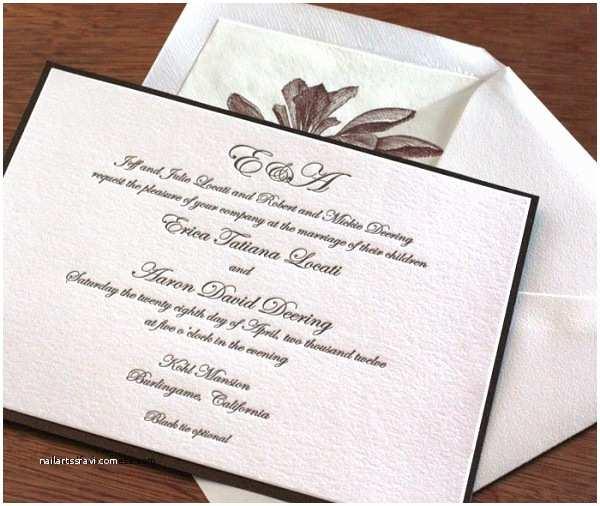 Formal attire On Wedding Invitation Wedding Invitation Elegant How to Write A Wedding