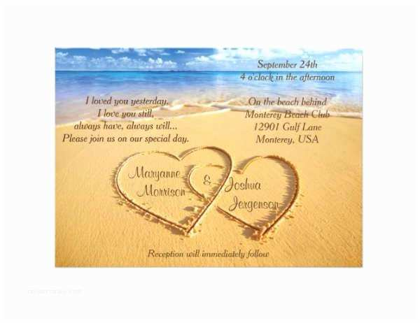Formal Beach Wedding Invitations 42 formal Invitation Design