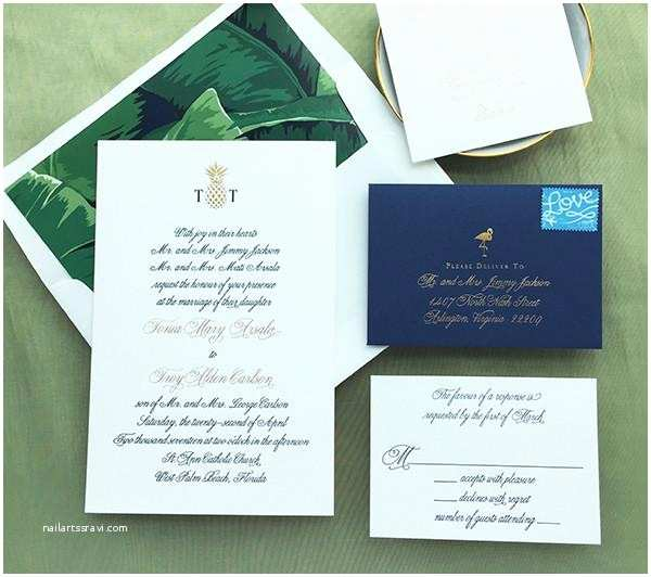Formal Beach Wedding Invitations Charm & Fig – Page 3