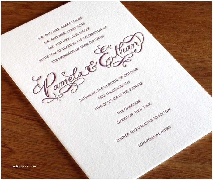 Formal Beach Wedding Invitations How to Choose the Best Wedding Invitations Wording
