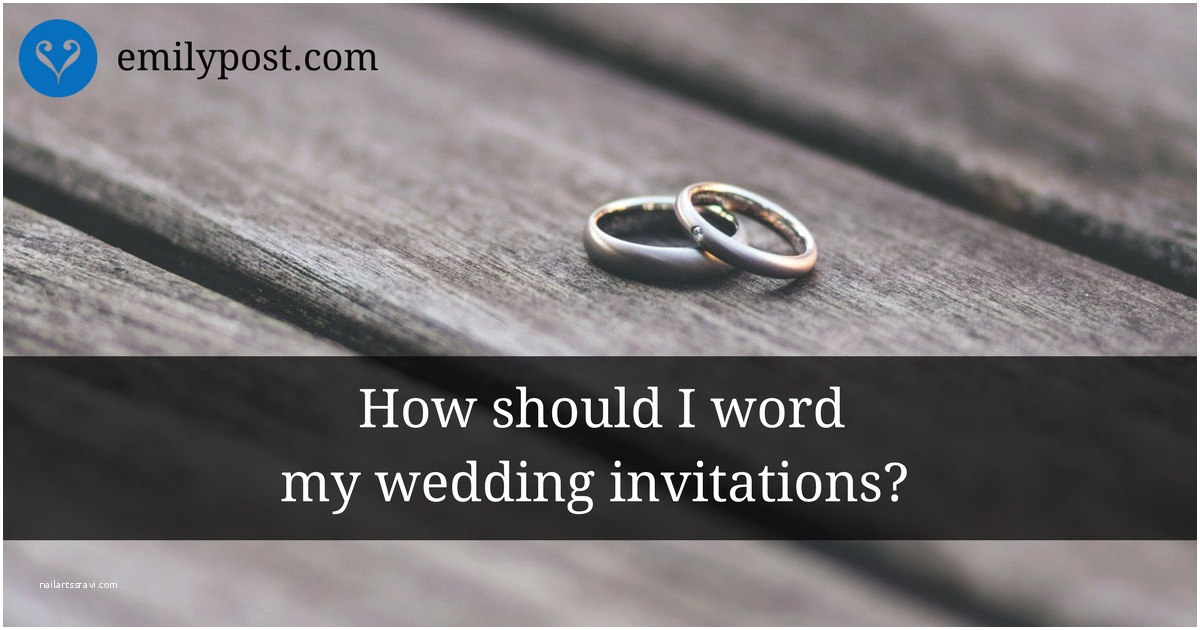 Formal Beach Wedding Invitations Samples formal Wedding Invitation Wording the Emily Pos