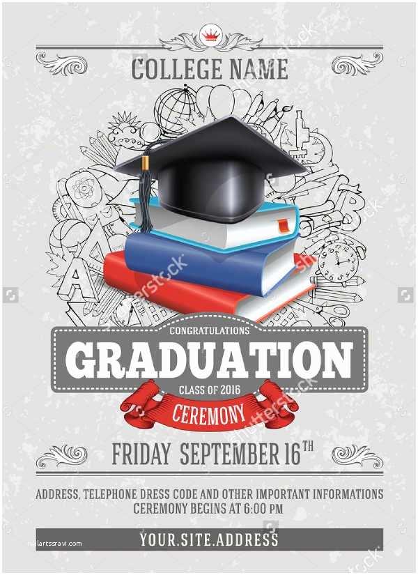 Formal Graduation Invitations 11 formal Party Invitations Free Psd Vector Eps Ai
