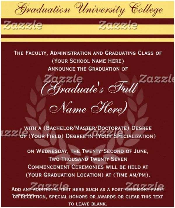 Formal Graduation Invitations 27 formal Invitation Templates