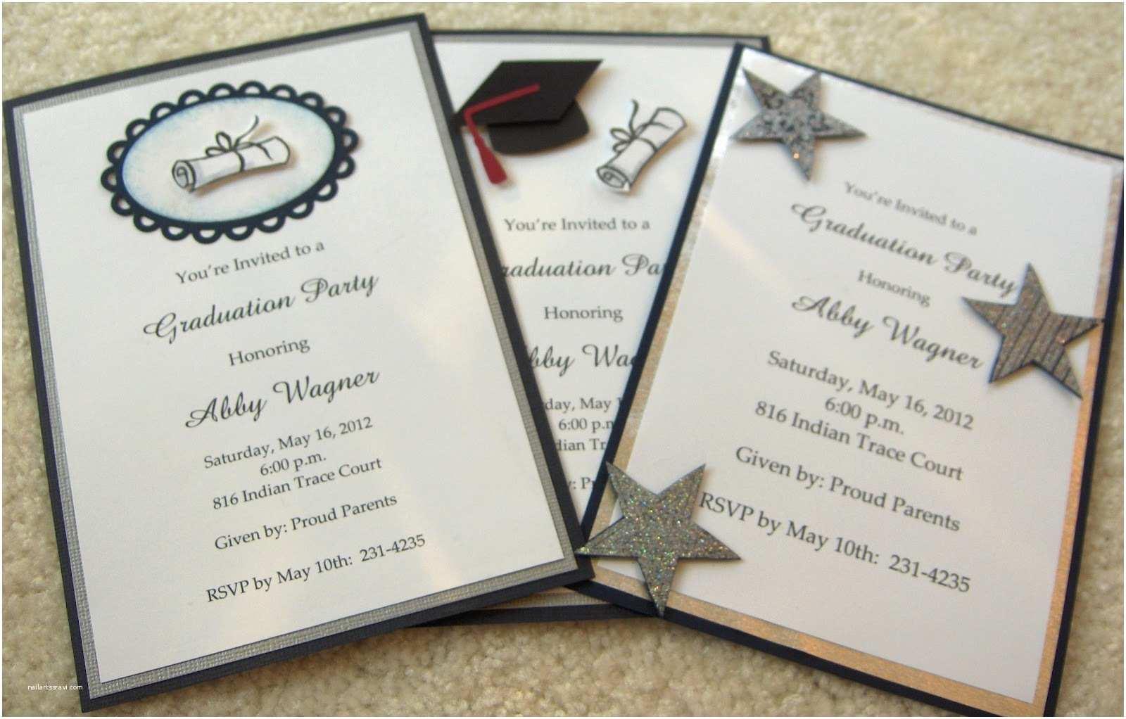 Formal Graduation Invitations formal Graduation Celebration Party Invitation Card Emuroom