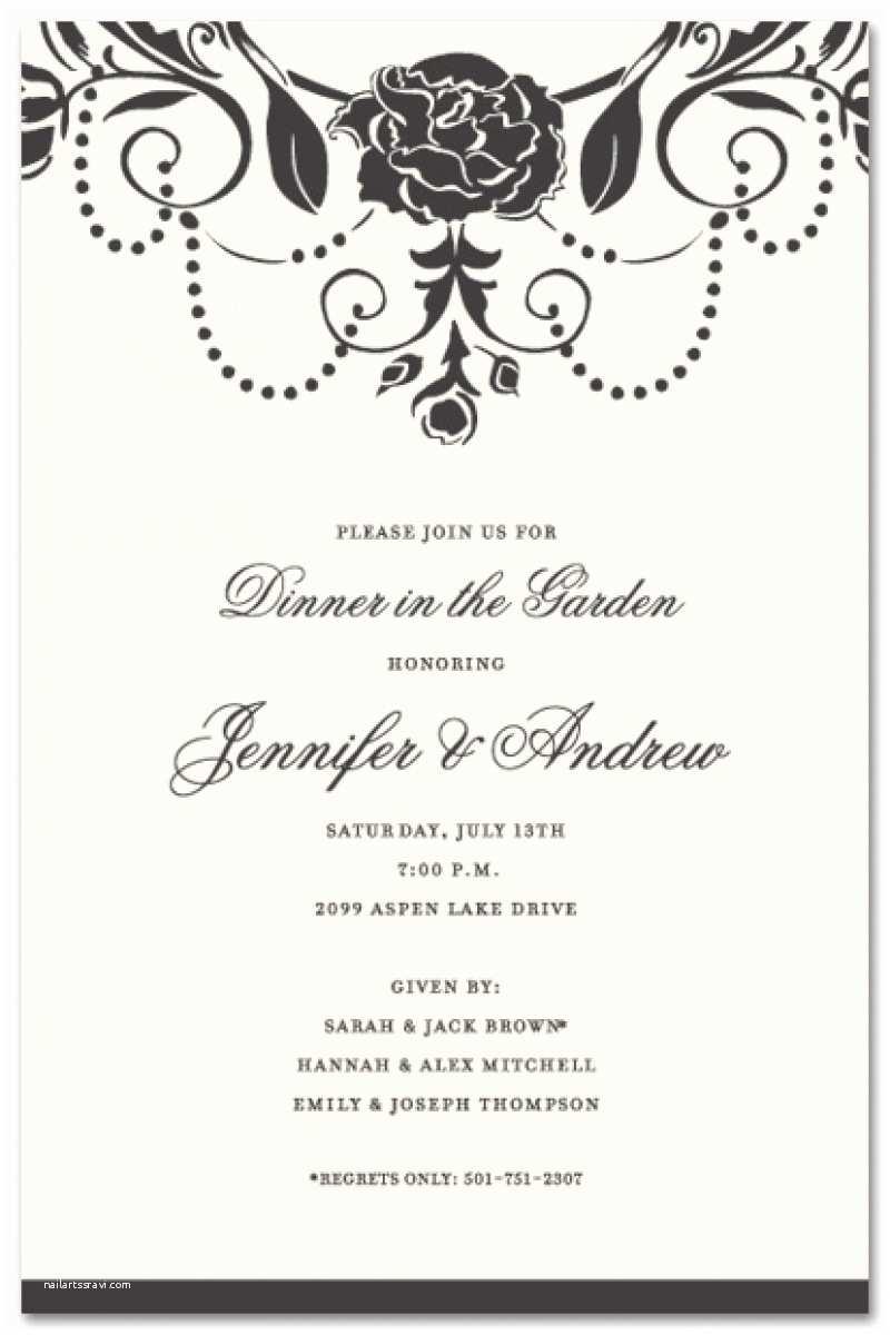 Formal Party Invitation Business Dinner Invitation Template Resume Builder