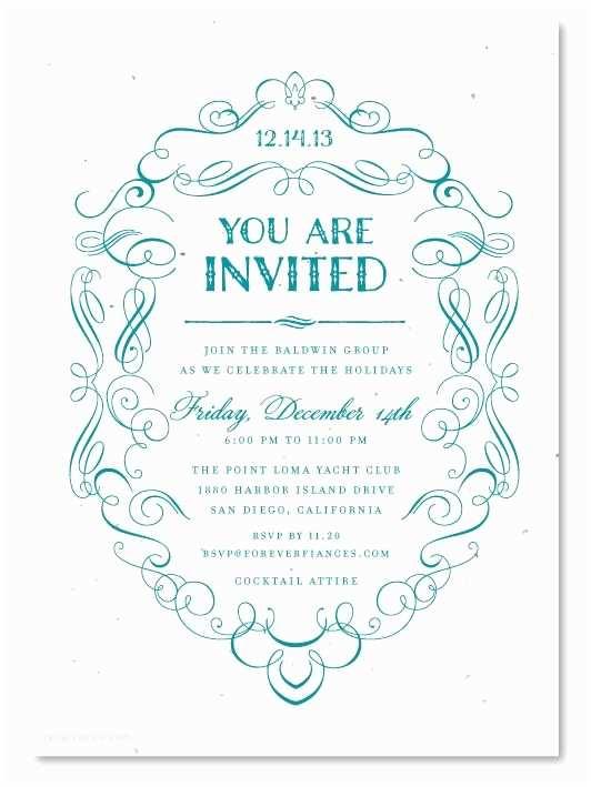 Formal Party Invitation formal Dinner Invitation Template