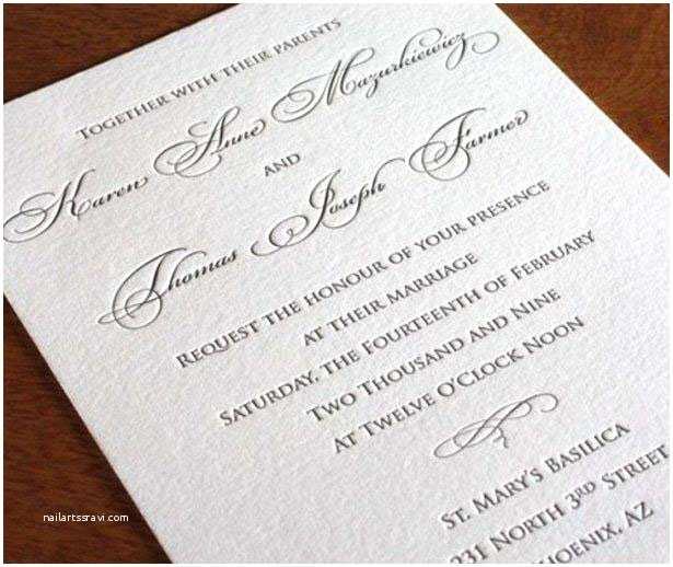 Formal Wedding Invitation Wording Partecipazioni Di Nozze 100matrimoni