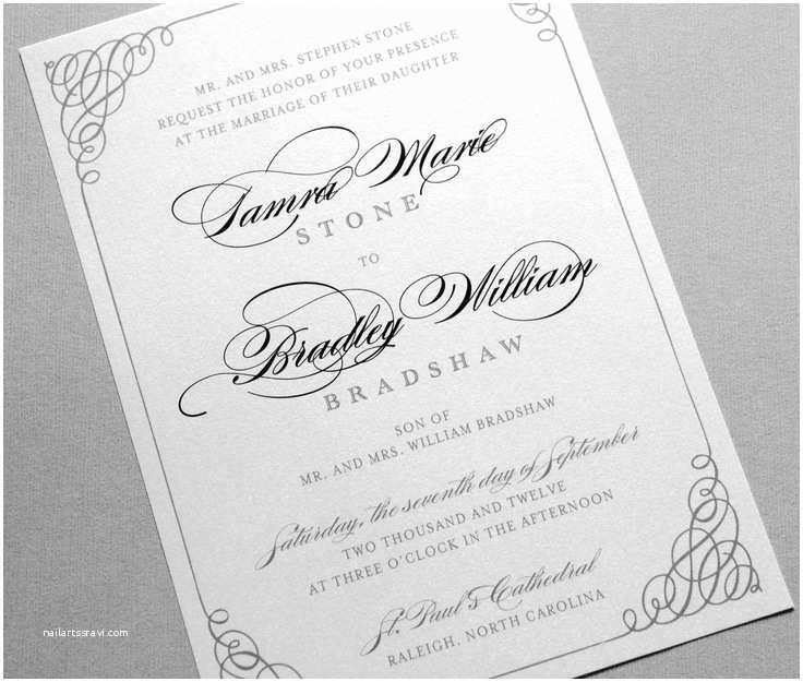 Formal Wedding Invitations Best 25 Wedding Invitation Wording Ideas On Pinterest