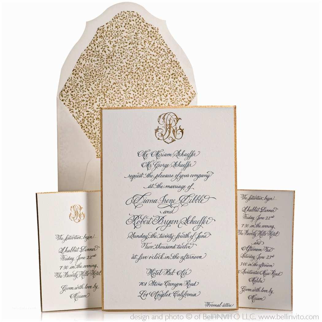 Formal Wedding Invitations Blanc Loves Important Lesson Wedding Invitation Etiquette