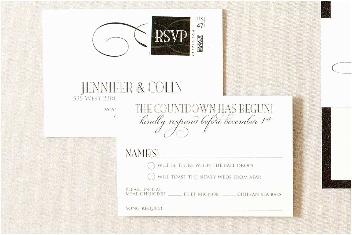 Formal Wedding Invitations formal Invitation with Rsvp Choice Image Invitation