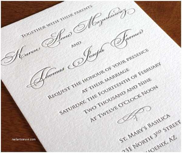 Formal Wedding Invitations formal Wedding Invitation Designs Traditional Wedding