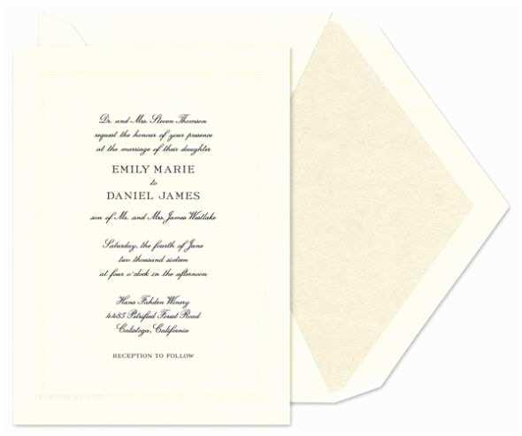 Formal Wedding Invitations formal Wedding Invitations – Gangcraft