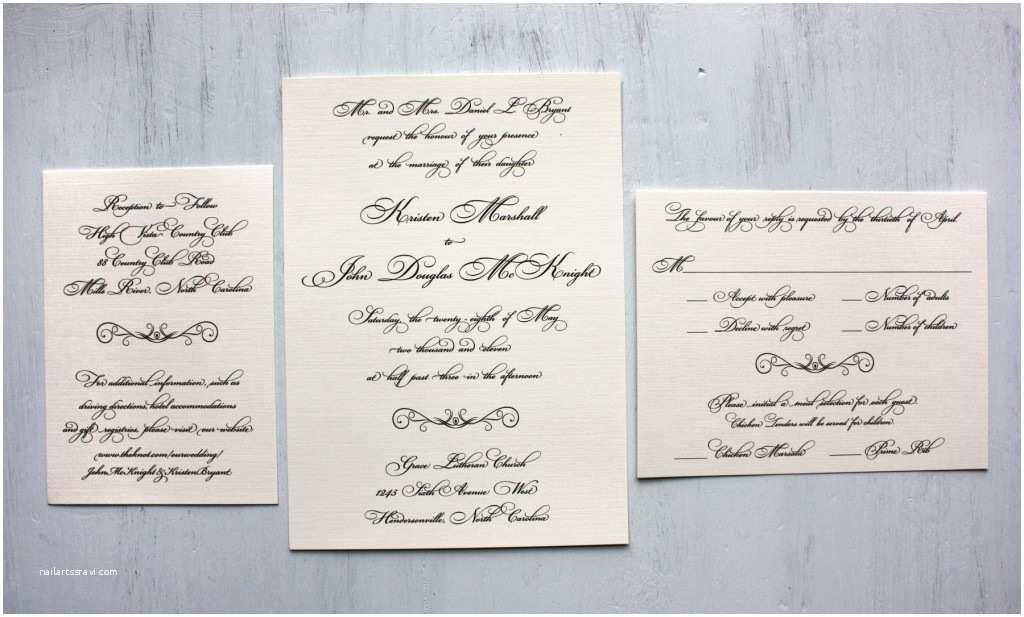 Formal Wedding Invitations Imposing formal Wedding Invitation