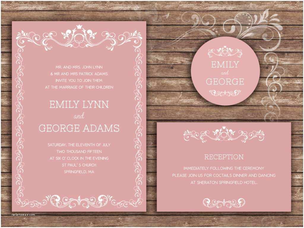 Formal Wedding Invitations Wedding Invitation formal Wording Examples Yaseen for