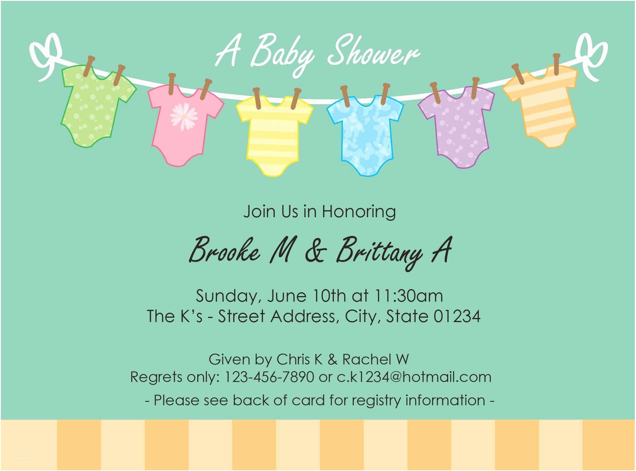 Free Baby Shower Invitation Free Baby Shower Invitation