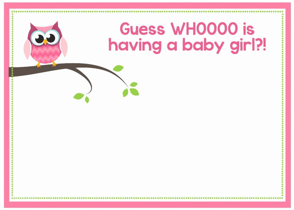 Free Baby Shower Invitation Free Printable Owl Baby Shower Invitations &