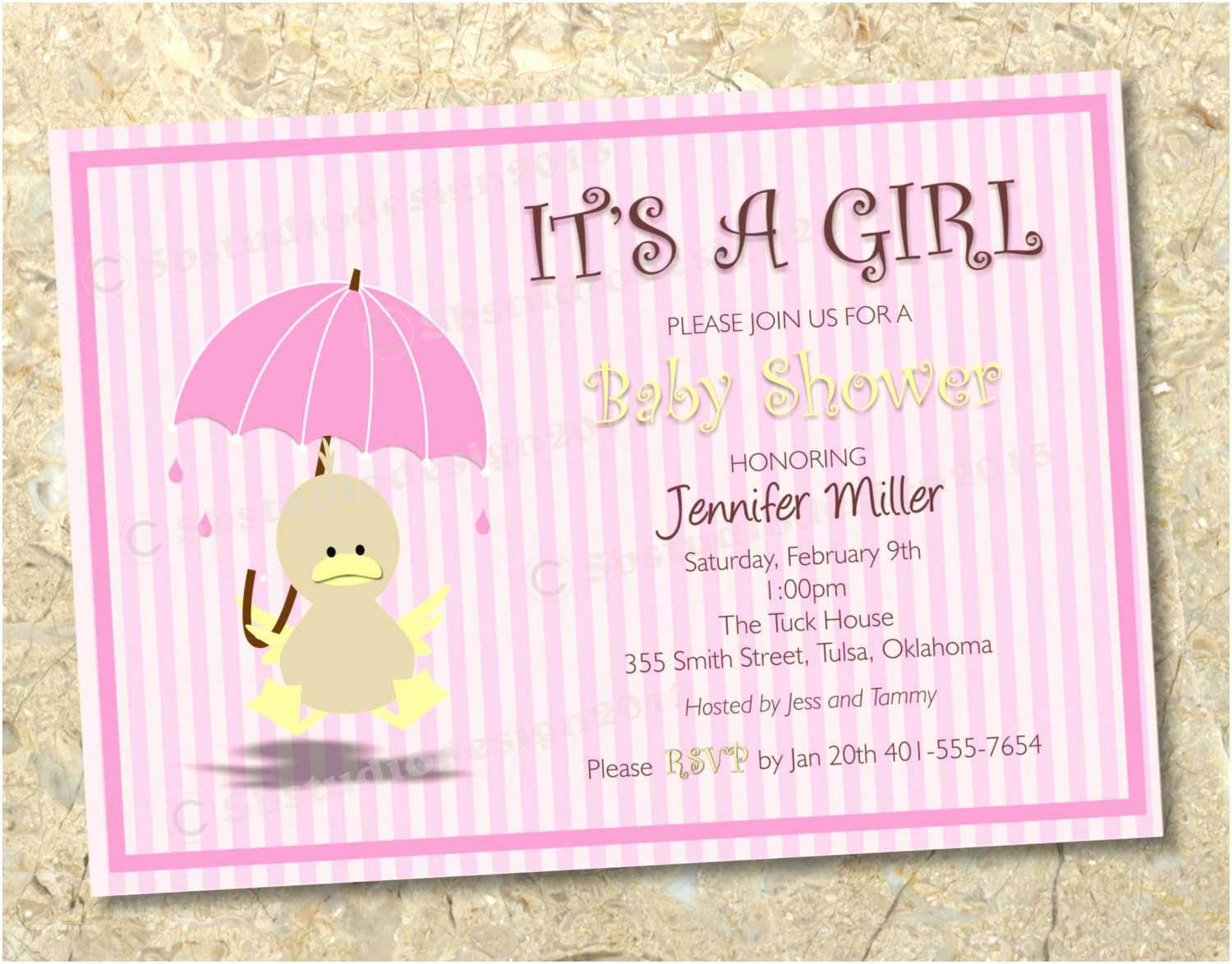 Free Baby Shower Invitation Free Printable Template For Baby Shower