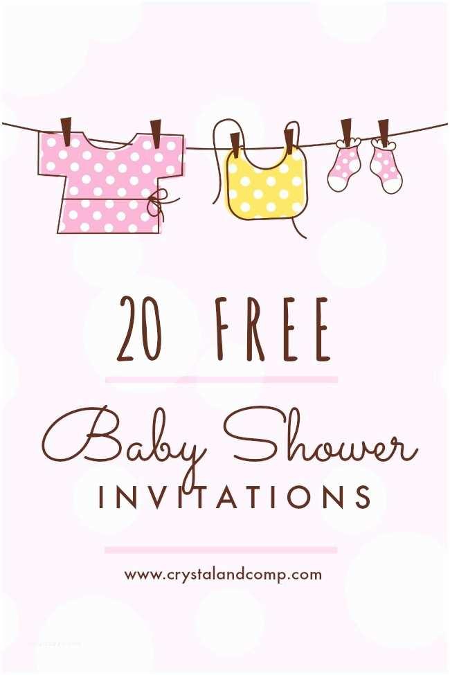 Free Baby Shower Invitation Printable Baby Shower