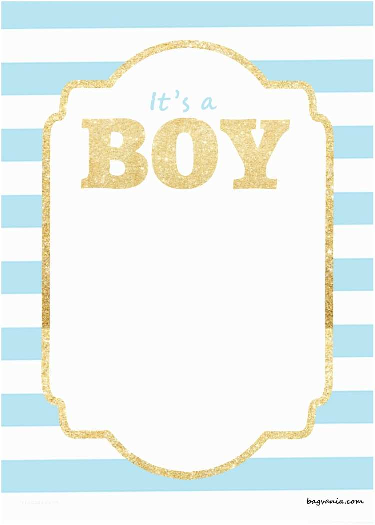 photograph about Free Printable Baby Shower Invitations for Boys named Absolutely free Boy or girl Shower Invitation Template Free of charge Printable Template