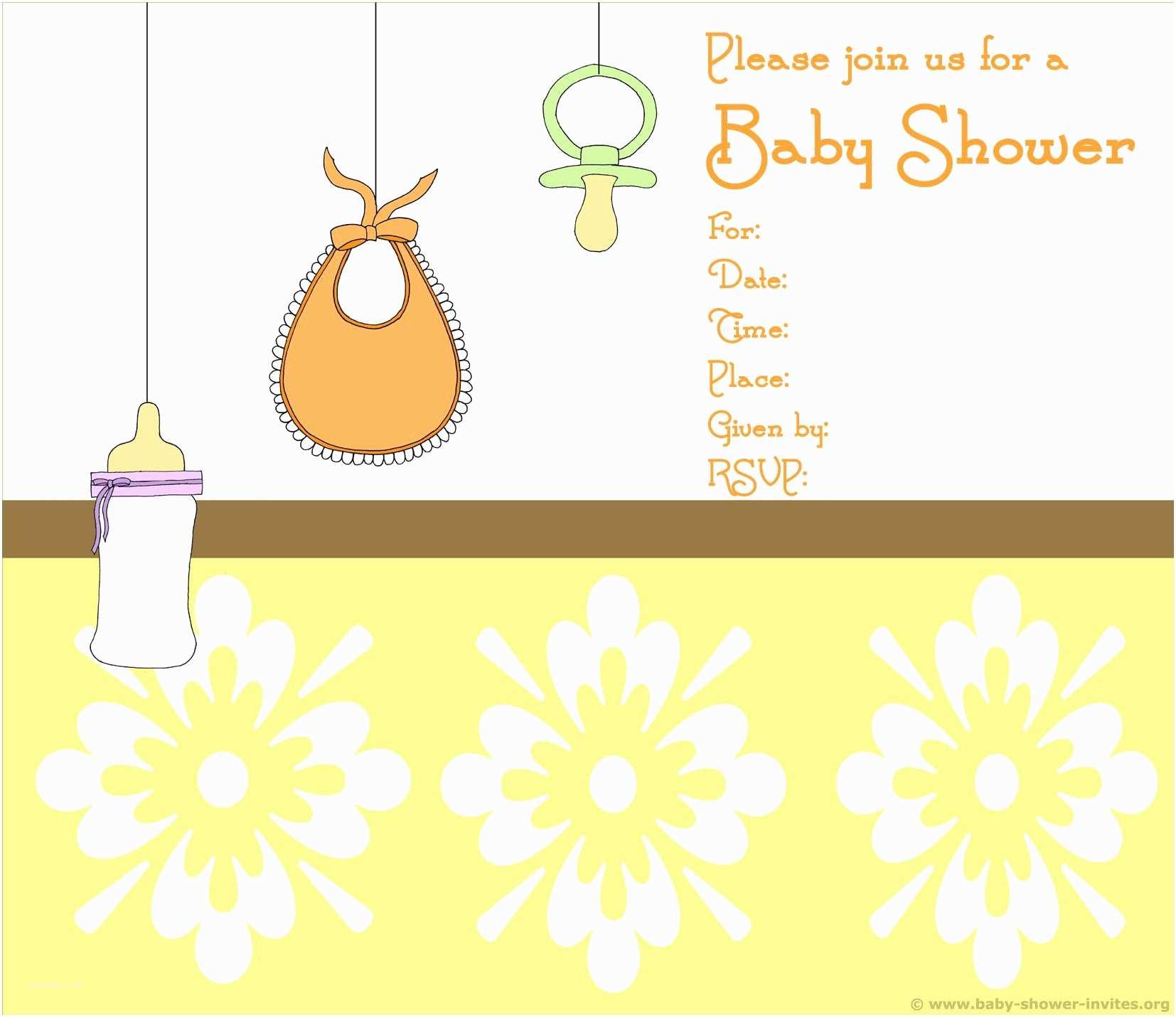 Free Baby Shower Invitation Templates Baby Shower Invitation Free Baby Shower Invitation