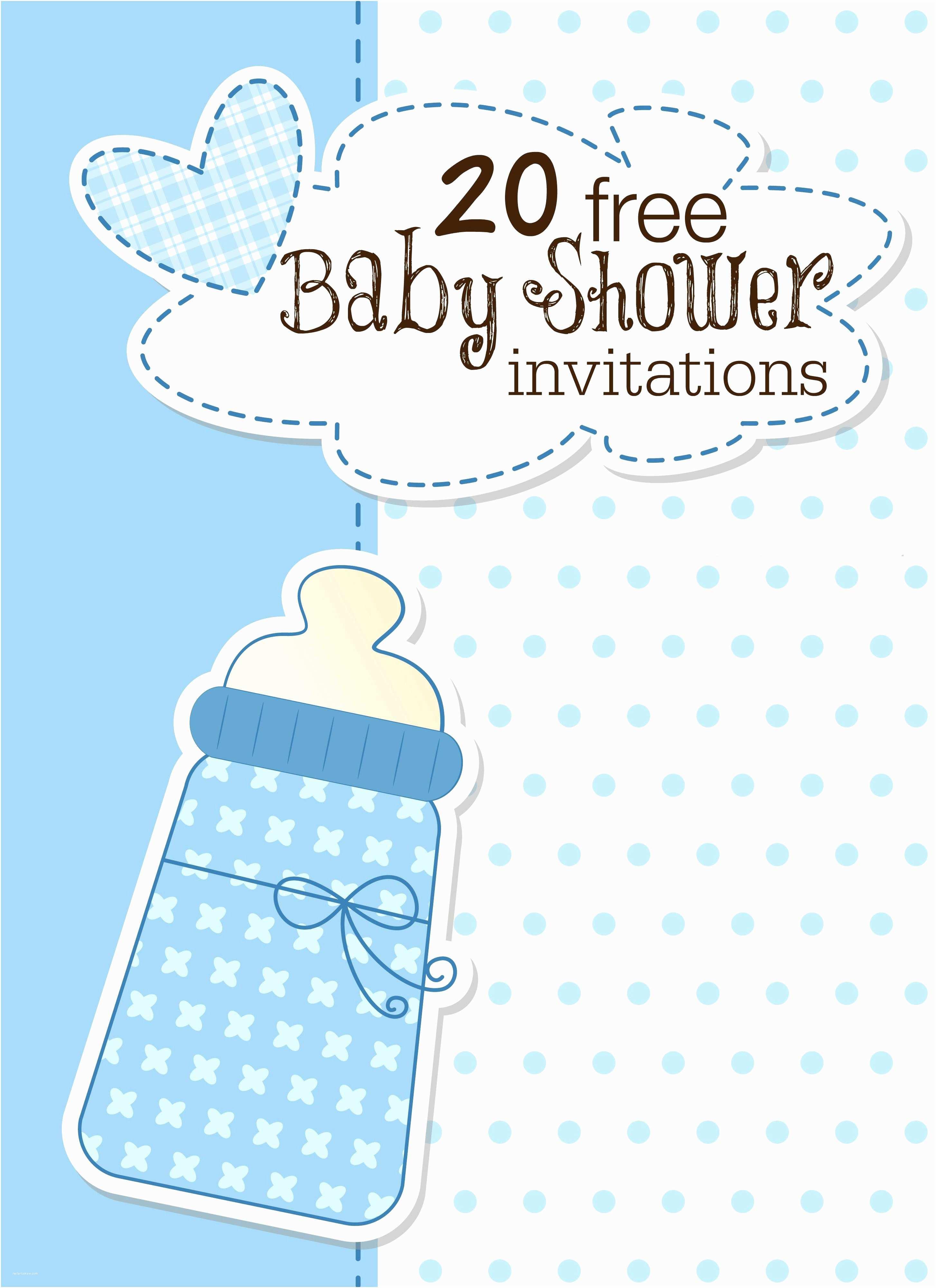 Free Baby Shower Invitation Templates Free Baby Invitation Template Free Baby Shower