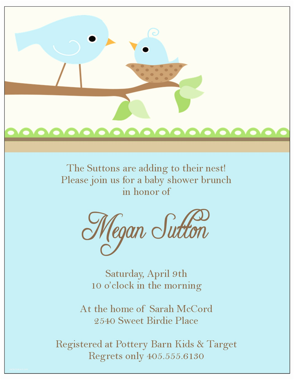 Free Baby Shower Invitation The Sweet Peach Paperie Little Bir Baby Shower