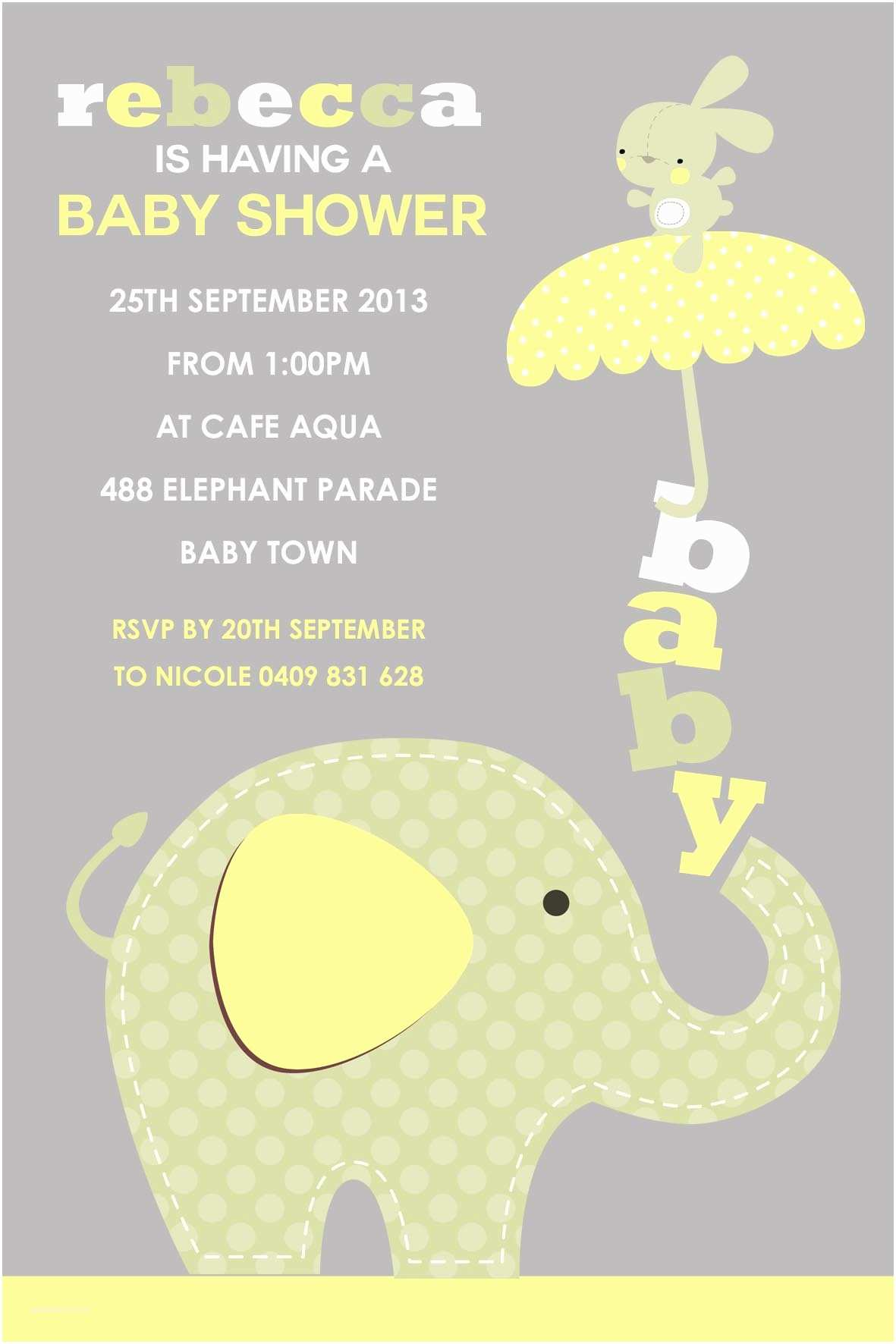 Free Baby Shower Invitations Baby Shower Email Invitations – Gangcraft