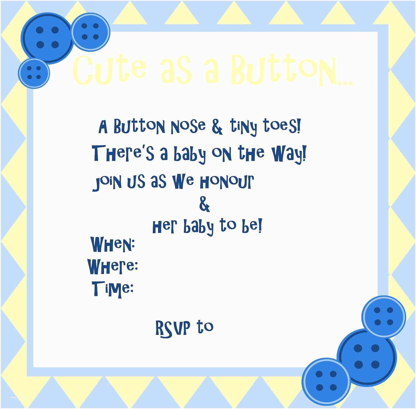 Free Baby Shower S Templates Baby Shower  Free Baby Shower