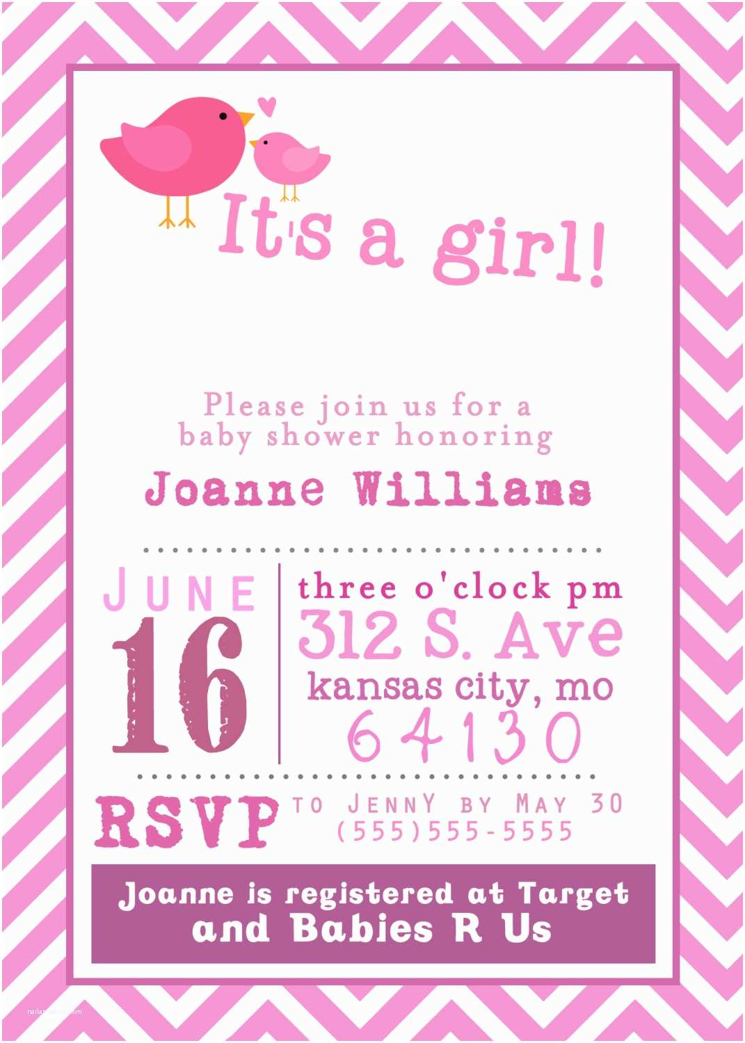 Free Baby Shower Invitations Templates Template Free Printable Baby Shower Girl Invitation