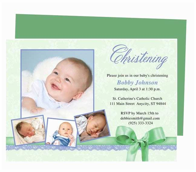 Free Baptism Invitations 21 Best Printable Baby Baptism and Christening Invitations