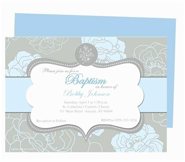 Free Baptism Invitations Chantily Baby Baptism Invitation Templates Printable Diy