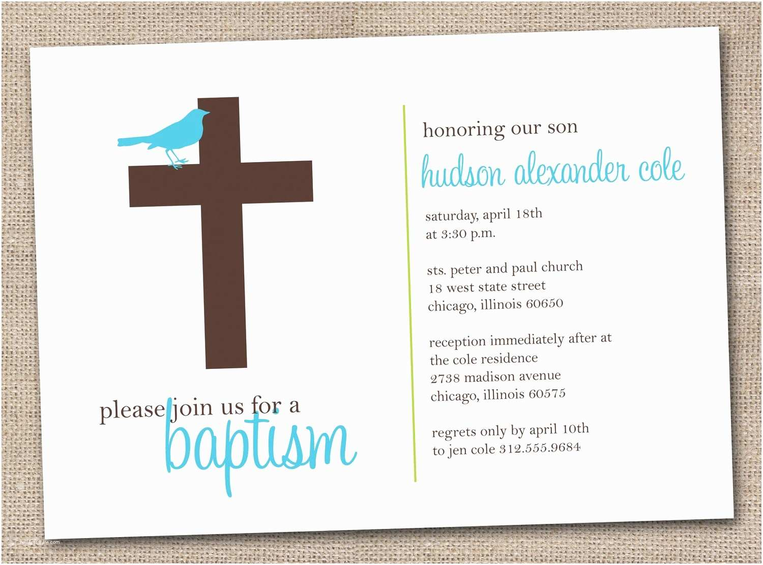 printable baptism invitations blue and