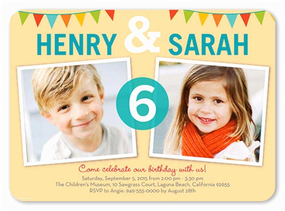 Free Birthday Invitations Template for Birthday Invitation for Kids