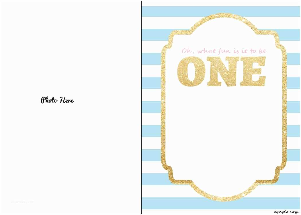 Free Birthday Invitations Templates Free Printable 1st Birthday Invitations Template