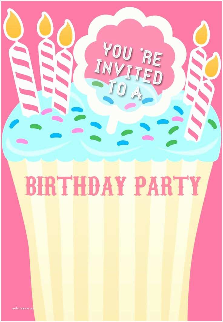 Free Birthday Party Invitation Templates 1000 Ideas About Free Printable Birthday Invitations On