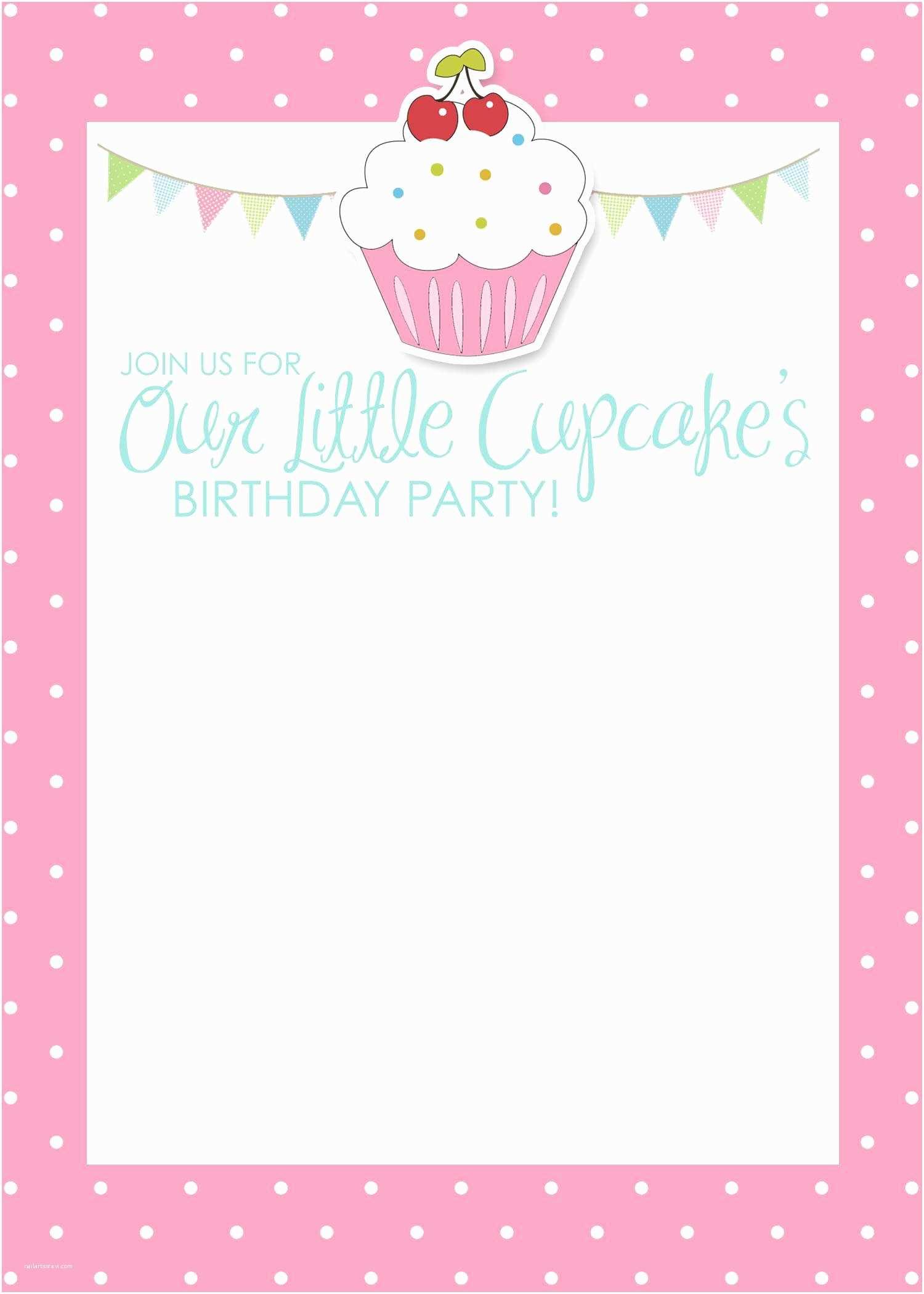 Free Birthday Party Invitation Templates Birthday Invitation Card Template Birthday Invitation