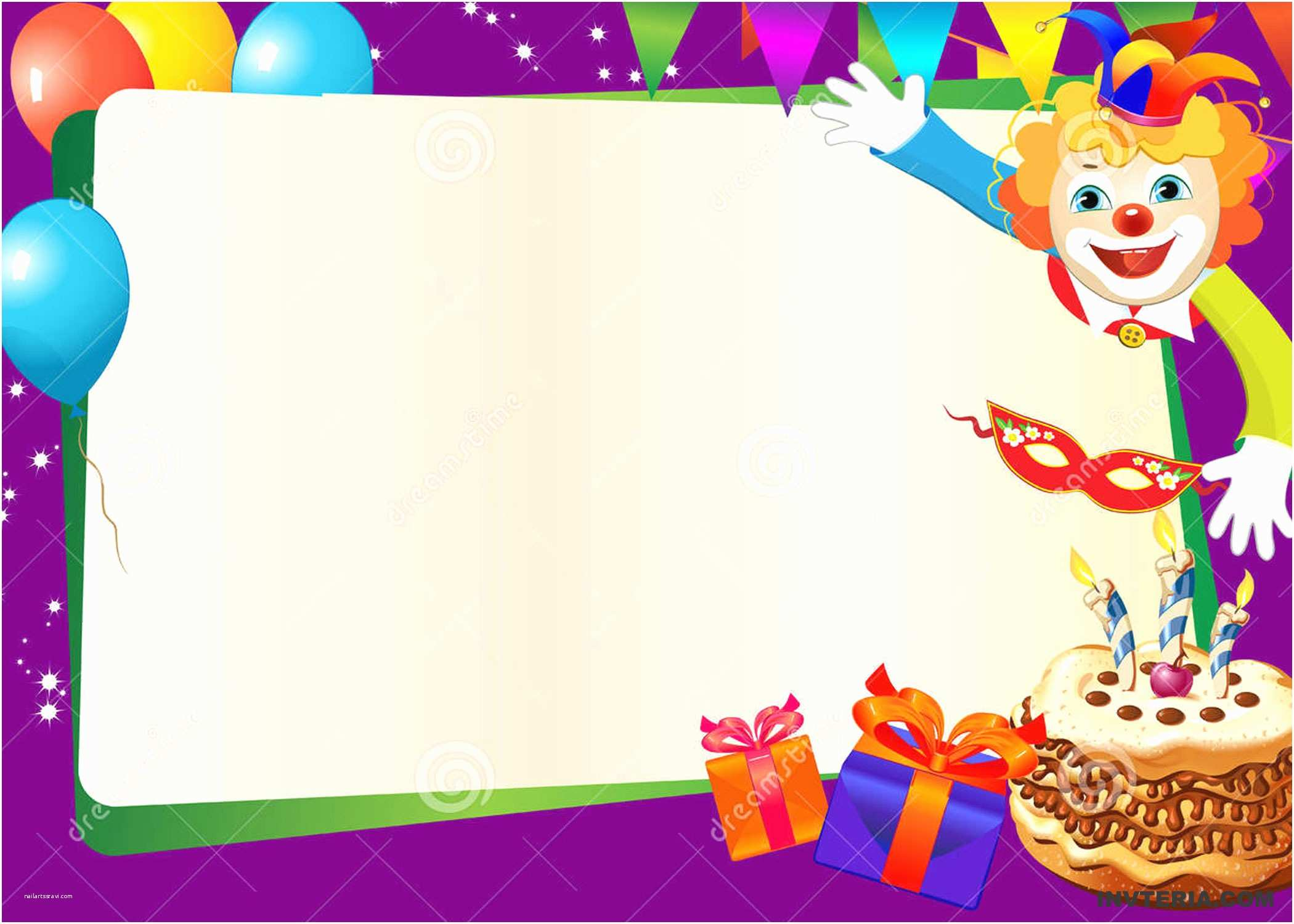 Free Birthday Party Invitation Templates Free Editable Birthday Invitations Templates