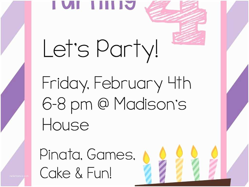 Free Birthday Party Invitation Templates Line Birthday Party Invitations Templates Free Cobypic