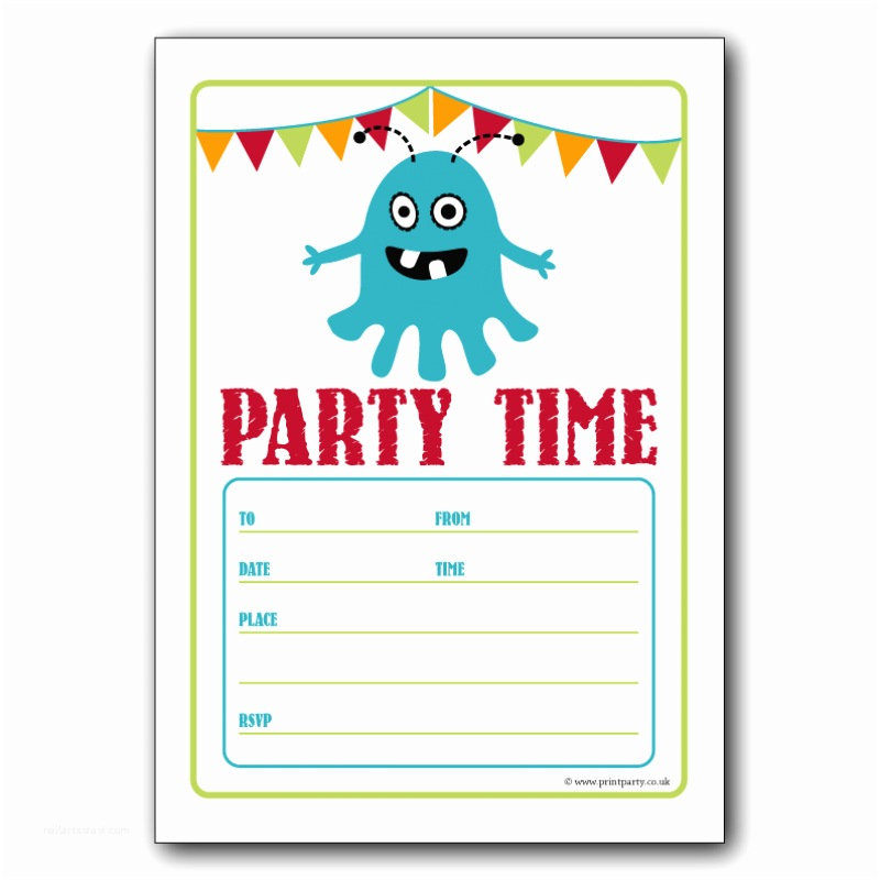 Free Birthday Party Invitations Invitation