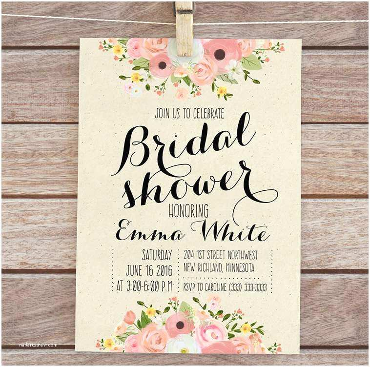 Free Bridal Shower Invitations Bridal Shower Invitations Templates Free Download