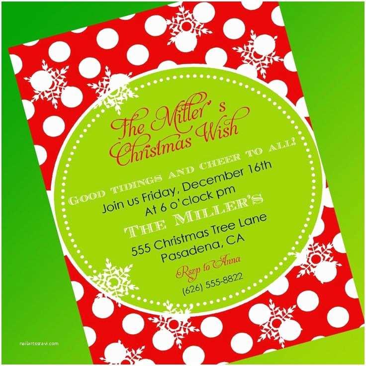 Free Christmas Party Invitation Templates Free Christmas Party Invitation Template